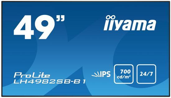 "49"" LCD iiyama ProLite LH4982SB-B1 - IPS,HDMI,DP, LH4982SB-B1"