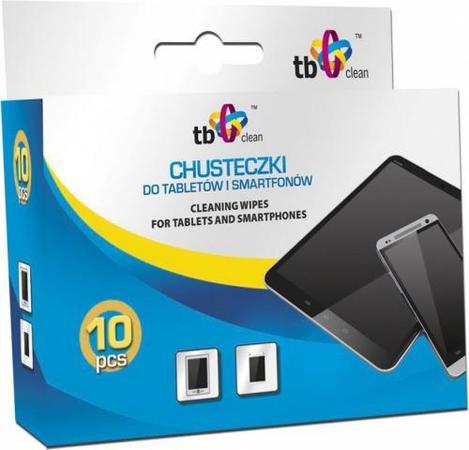 TB Clean Ubrousky pro telefony a tablety, 10 ks, ABTBCU000CHTS10