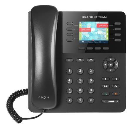 Grandstream GXP2135 [VoIP telefon - 4x SIP účet, HD audio, bluetooth, podpora headset, barevný LCD, 2x GLAN], GXP2135