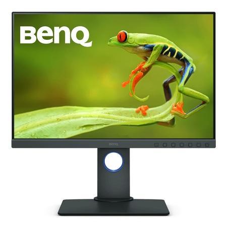 "BenQ LCD SW240 24,1"" IPS LED/1920x1200/5ms/HDMI1.4/DP1.2/DVI/USB/pivot/10bit/99% AdobeRGB/Flicker-free/Low Blue Light, 9H.LH2LB.QBE"