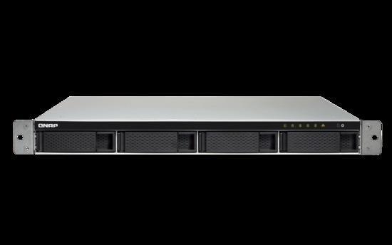 QNAP TS-453BU-2G (2,3GHz / 2GB RAM / 4x SATA / 4x GbE / 1x PCIe slot / 1x HDMI / 4x USB 3.0)