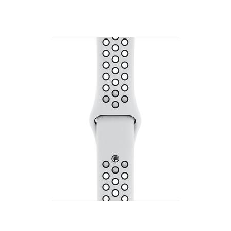 Apple Watch 40mm Pure PlatinumBlack Nike Sport Band