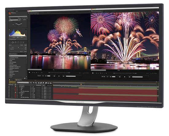 "32"" LED Philips 328P6VUBREB-4K,VA,USB-C,LAN, 328P6VUBREB/00"