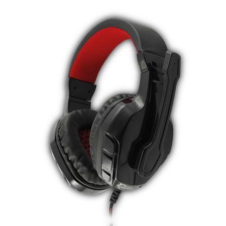 WHITESHARK PANTHER BLACK/RED GHS-1641 Gaming Headset, sluchátka s mikrofonem, (náhlavní souprava)