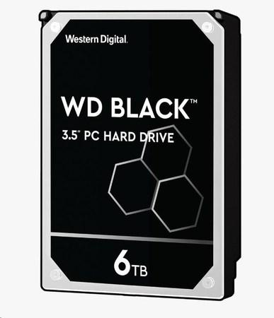 WD BLACK WD6003FZBX 6TB SATAIII/600 128MB cache 7200 ot.