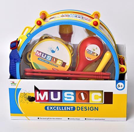 MAC TOYS: Buben s nástroji