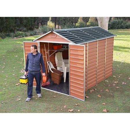 Palram Skylight 6x10 hnědý zahradní domek