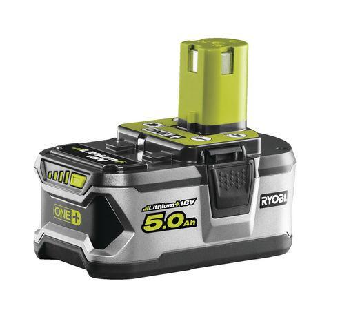 Ryobi RB18L50 18 V lithium iontová baterie 5,0 Ah ONE+