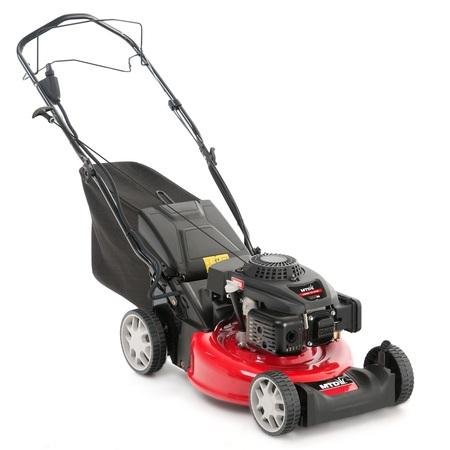 MTD SMART 46 SPOE travní sekačka s benzinovým motorem a elektrostartem