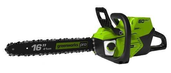 Greenworks GD60CS40 60 V aku řetězová pila s indukčním motorem