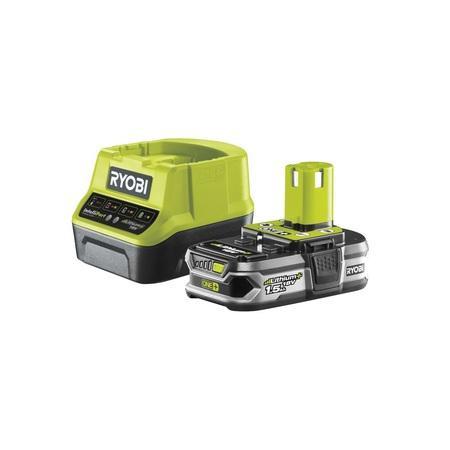 Ryobi RC18120-115 sada 18 V lithium iontová baterie 1,5 Ah s nabíječkou RC18120 ONE+