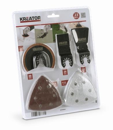 Kreator KRT990045 - Sada pro multifunkční brusky 23ks
