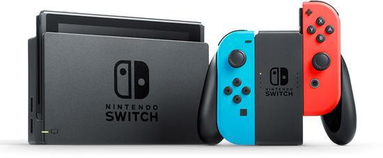 Herní konzole Nintendo Switch s Joy-Con - modro/ červená