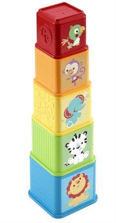 Mattel Fisher Price Zvířátková věž