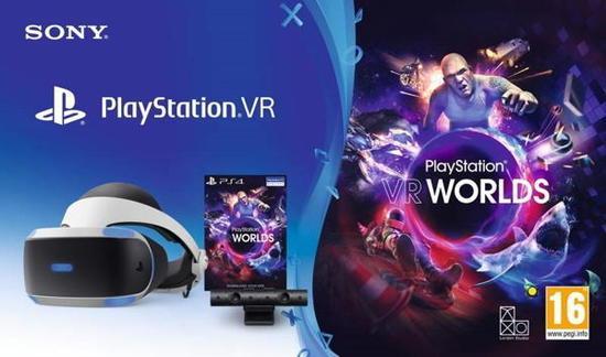 SONY PS4 PlayStation VR V2 + Eye Camera V2 + VR Worlds, PS719782612