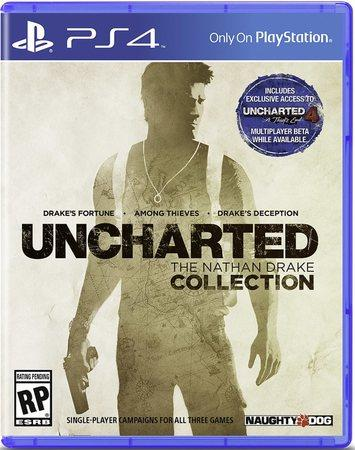 Hra Sony PlayStation 4 Uncharted The Nathan Drake Collection PS HITS