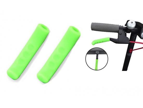 Brake Handle Silicone Bar Grips for Xiaomi Scooter Green (OEM)