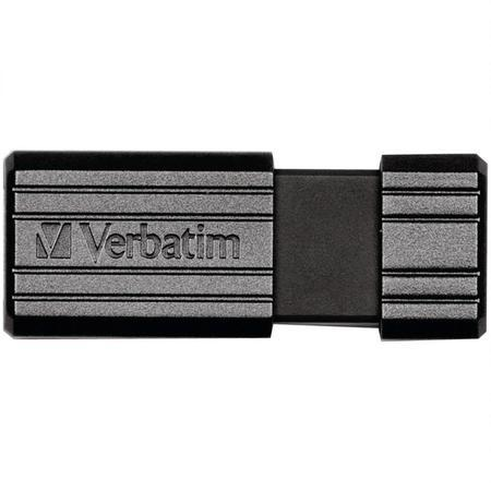 Verbatim PinStripe 128GB USB 3.0 flashdisk, černý