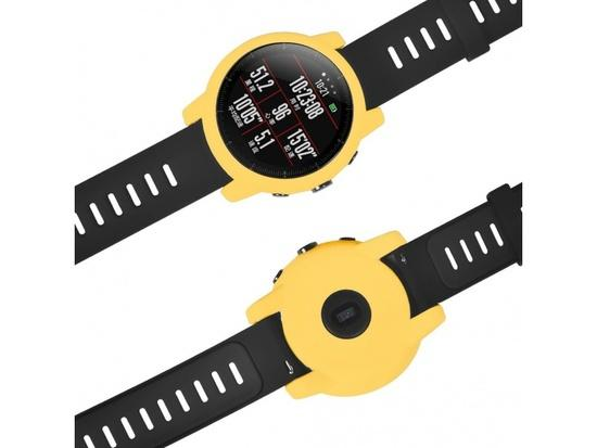 TPU Protection Case pro Xiaomi Huami Amazfit 2 Stratos (Yellow)