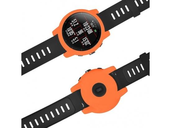 TPU protection case pro Xiaomi Huami Amazfit 2 Stratos (Orange)