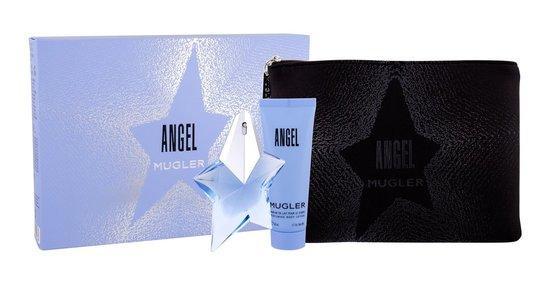 Mugler Angel EDP plnitelný 25 ml + BL 50 ml + kosmetická taška