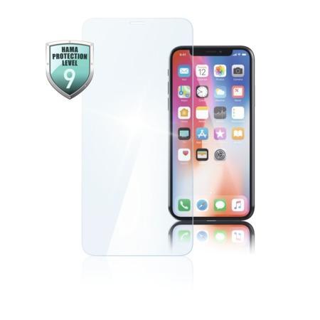 Hama Premium Crystal Glass Real Glass Screen Protector for Apple iPhone XR