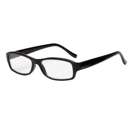 Filtral čtecí brýle, plastové, černé, +3.0 dpt