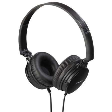 Thomson on-ear sluchátka s mikrofonem HED2207, černá