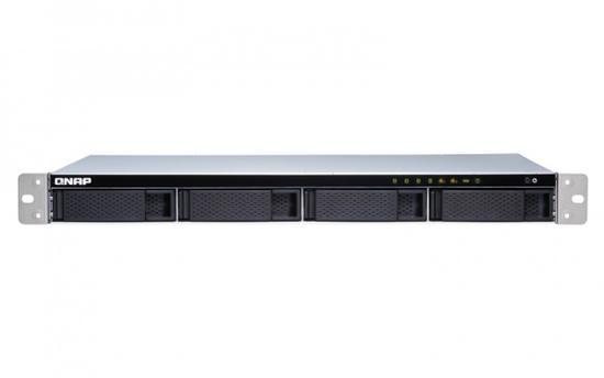 QNAP TS-431XeU-2G Turbo NAS Server, 1,7GHz QC/2GB/4xHDD/2xGL+1x10GL/USB 3.0/R0,1,5,6/iSCSI/1x240W/RACK 1U, UQ191