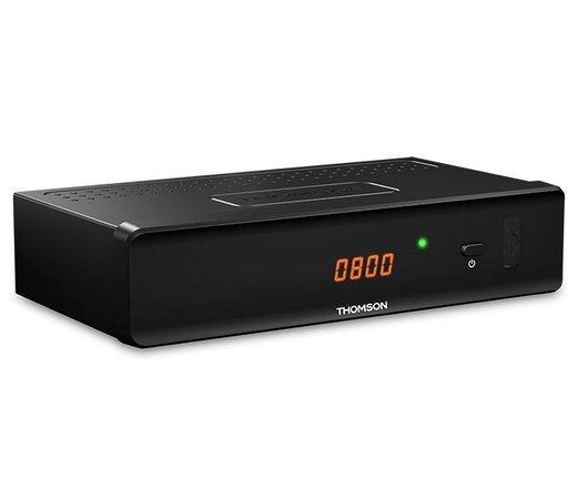 THOMSON DVB-C přijímač THC 301/ Full HD/ EPG/ HDMI/ USB/ SCART/ externí adaptér/ černý