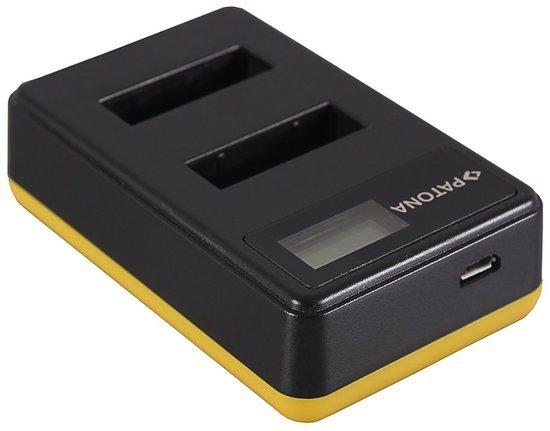 PATONA nabíječka Foto Dual LCD Sony NP-BX1 USB