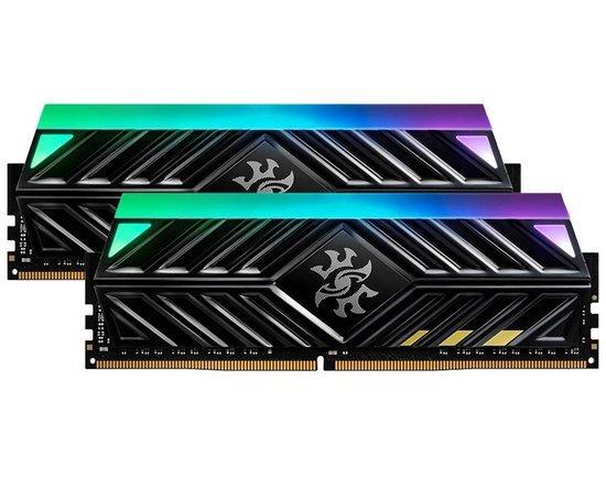 ADATA XPG SPECTRIX D41 X TUF 16GB DDR4 3200MHz / DIMM / CL16 / černá / KIT 2x 8GB, AX4U320038G16-DB41