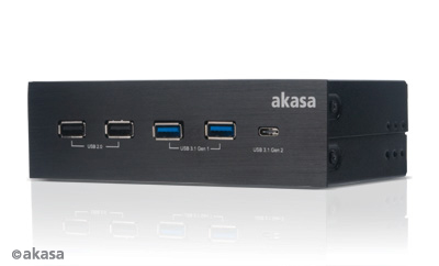 AKASA InterConnect GX, AK-HC-11BK