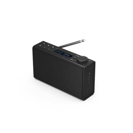 Hama digitální rádio DR7, FM/DAB/DAB+, bateriové napájení