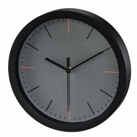 Hama MaxR, nástěnné hodiny, 25 cm, tichý chod, šedé