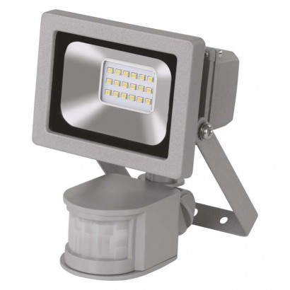 REFLEKTOR LED 10W PROFI PIR studená bílá