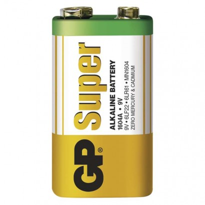Baterie GP Super Alkaline 9V 1ks