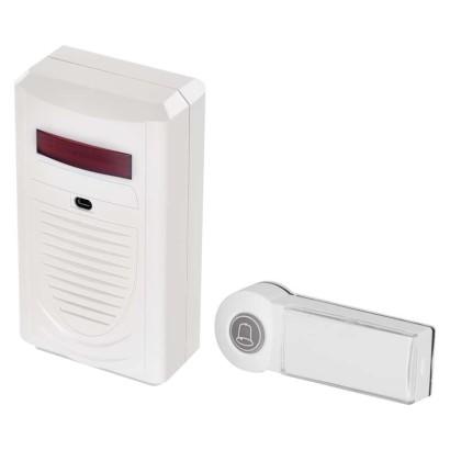 Domovní bezdrátový zvonek, bílý Emos ZVONKA-M P5705