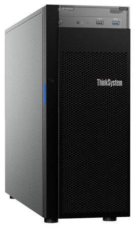 """Lenovo ST250 Xeon E-2124 4C 71W 3.3GHz/1x16GB/0GB HS 2,5""""(8)/SWS RAID/DVD-RW/XCC-S/550W, 7Y45A010EA"""