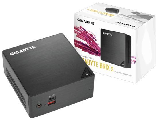 GIGABYTE BRIX GB-BRi5H-8250, Intel i5-8250U, 2xSODIMM DDR4, VGA, GB-BRi5H-8250