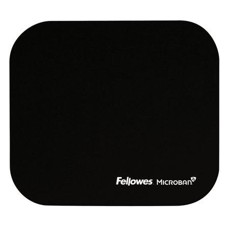 Podložka pod myš Fellowes Microban černá,