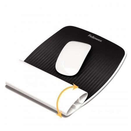 Fellowes I-Spire bílá / Podložka pod myš a zápěstí (felfergwmpadispirebl),