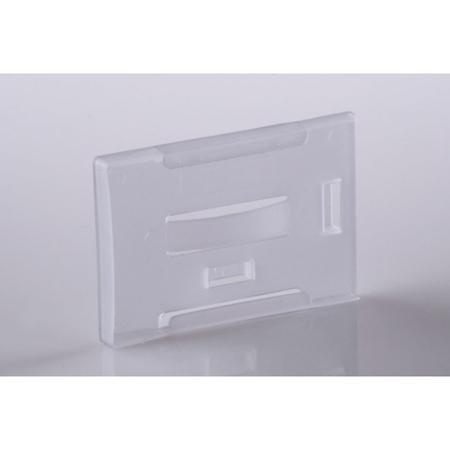 Visačky Eurosupplies CCE vodorovné tuhé plastové pro 1-5 magnetických karet 54×86mm, 10ks,