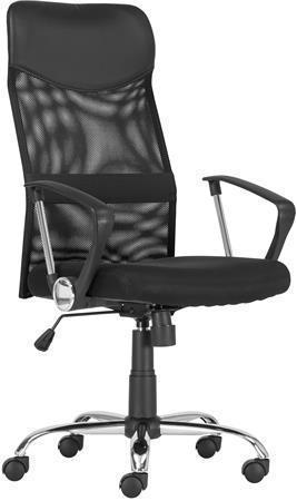 """Kancelářská židle """"TENNESSEE Z"""", černá, síťovina, chromovaná základna"""