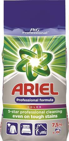 """Prací prášek """"Color"""", 7,5 kg, na barevné prádlo, ARIEL"""