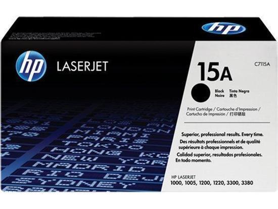 Toner HP C7115A černý (2500str./5%), C7115A