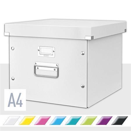 Krabice na závěsné desky Leitz Click & Store, Bílá