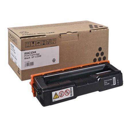407642 Toner pro Aficio SP C220N / SP C221N / SP C222DN tiskárny, RICOH černá, 2 000 stránek, 407642