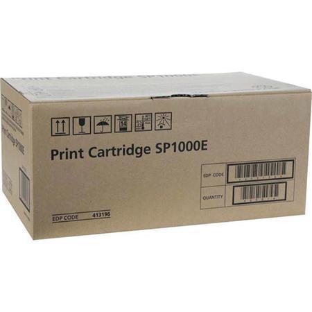 413196 Cartridge do tiskárny Aficio SP 1000S/1000SF, černá, 4 tis. stran, RICOH, 413196