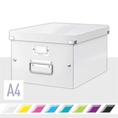Střední univerzální krabice Leitz Click & Store, Bílá